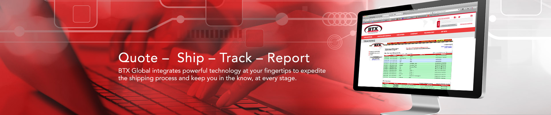 Technology Integration for Shipping